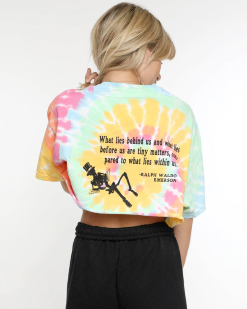 Boys Lie Within Us Cropped Tee
