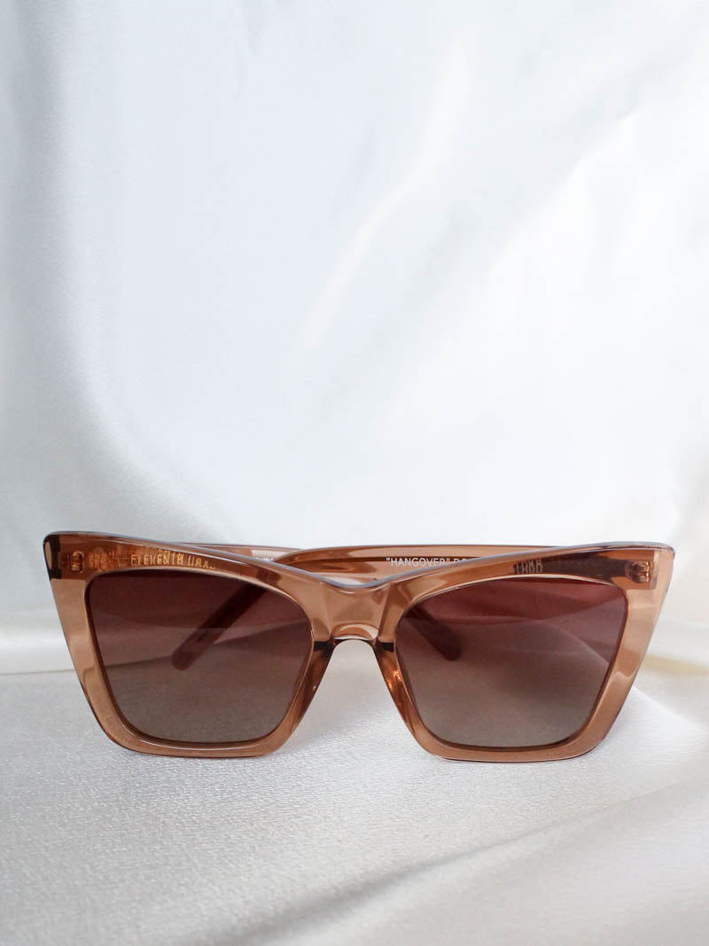 Hangover Sunglasses | Brown/Clear | Eleventh Hour