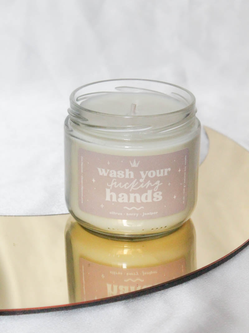 Wash Your Hands Candle by Evil Queen
