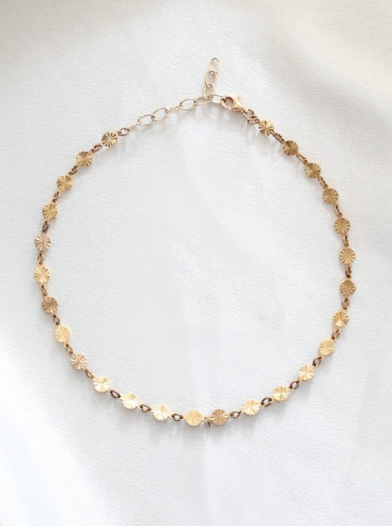 Frasier Sterling Gold Choker