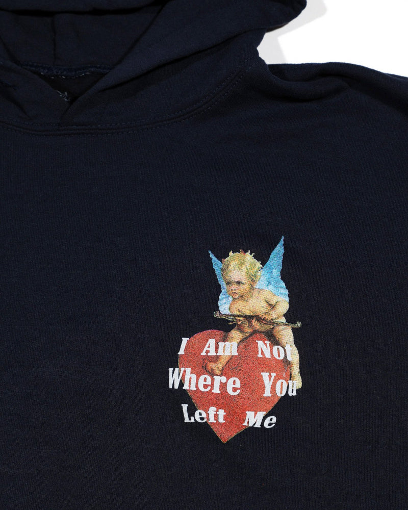 I Am Not Where You Left Me Sweatshirt | Boys LIe