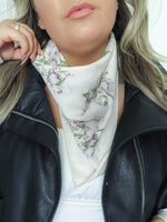 Orchid Bandana Scarf Accessory