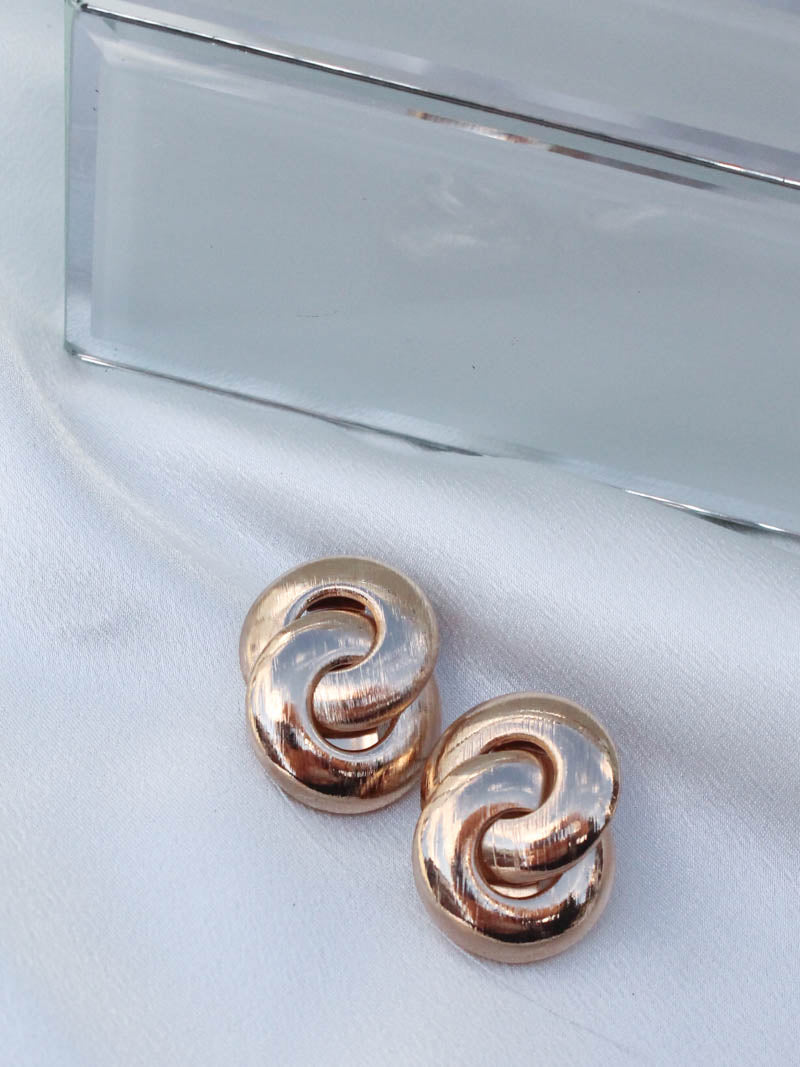Chunky Gold Earring