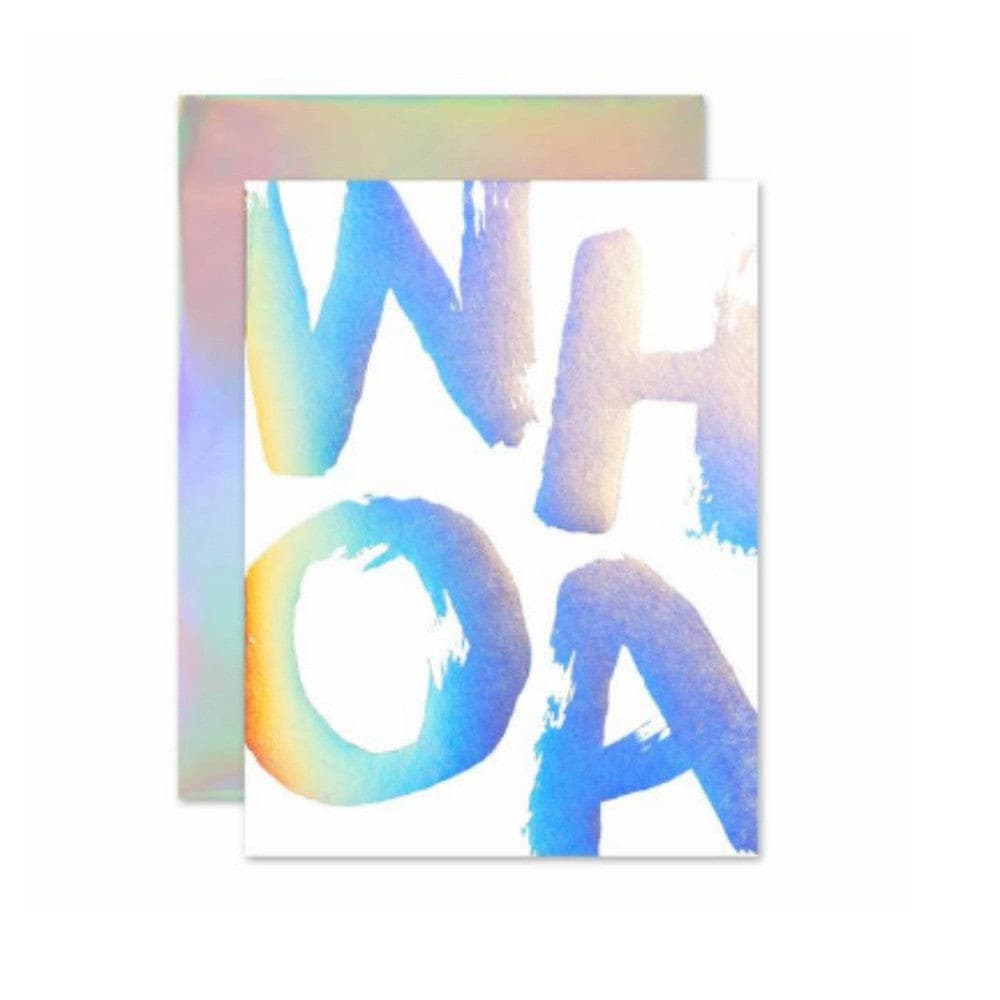 HOLLA-GRAPHIC GREETING CARD