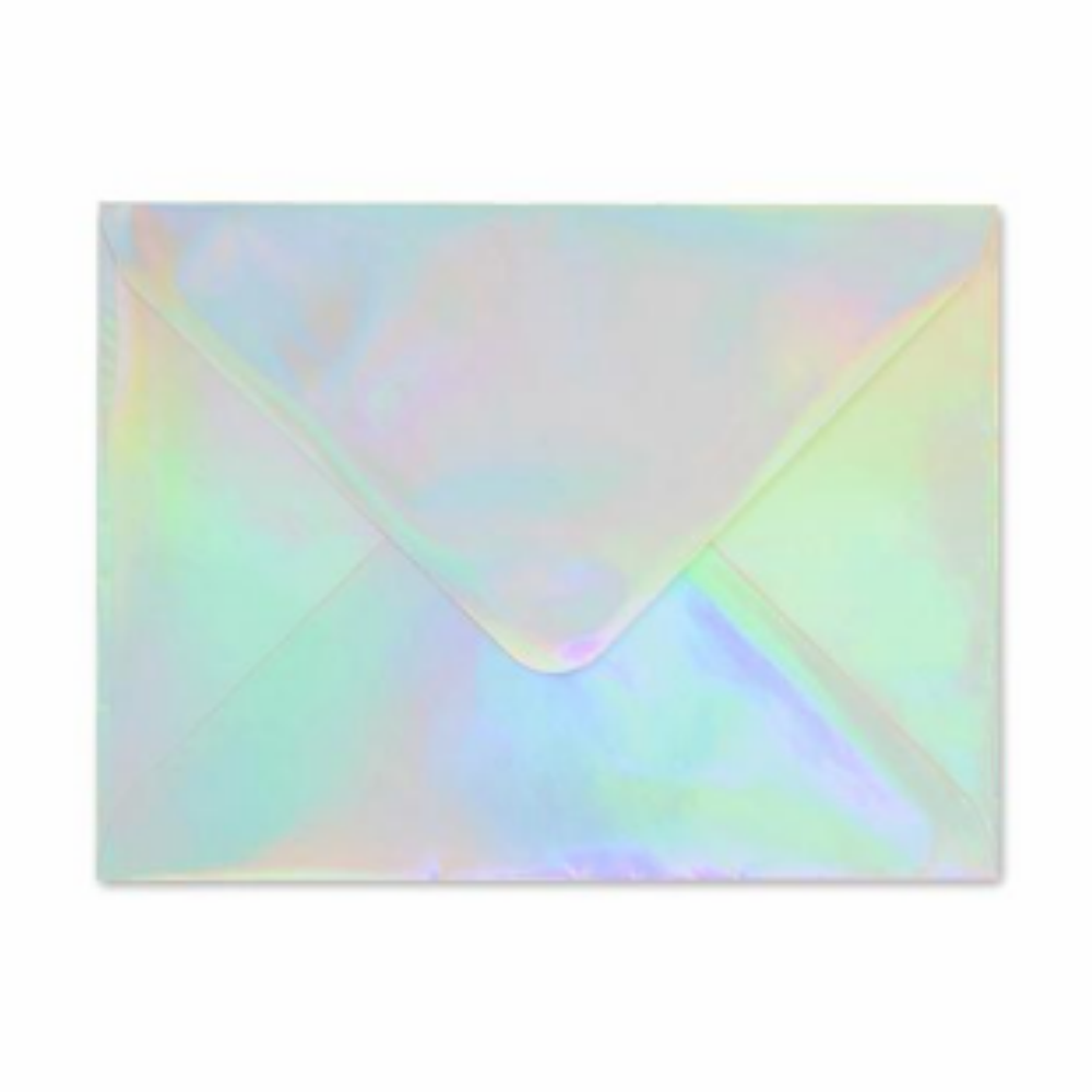 HOLOGRAPHIC ENVELOPE