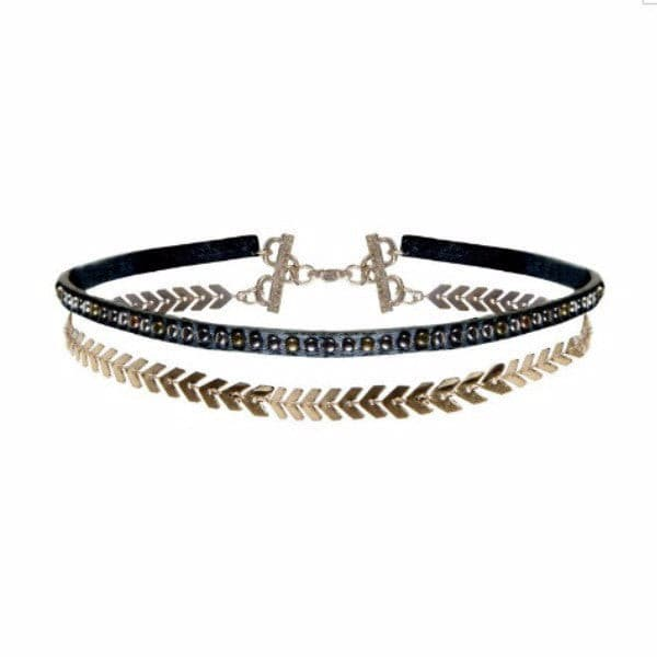 WANDERLUST & CO . WILD CHILD CHOKER