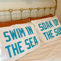 Sea and Sun Pillowcase Set