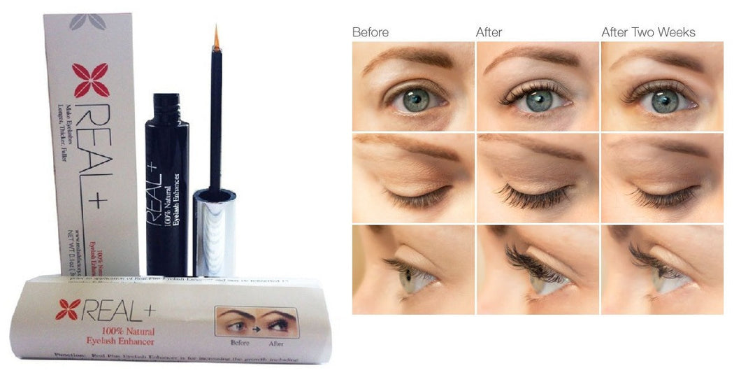 Real Plus Eyelash Growth Serum 100% Natural