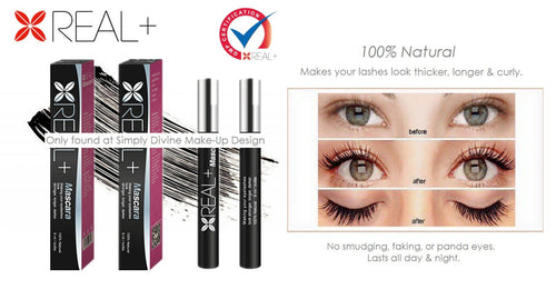 Real Plus Mascara - 100% Natural