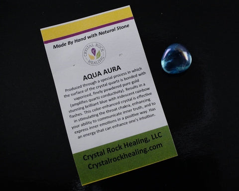 Aqua Aura Pocket Stone