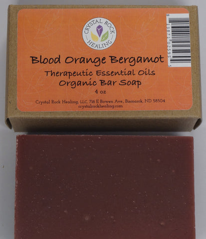 Blood Orange and Bergamot Bar Soap 4oz