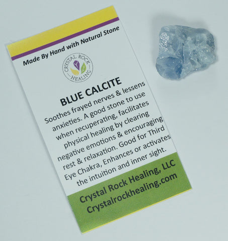 Calcite Blue Pocket Stone