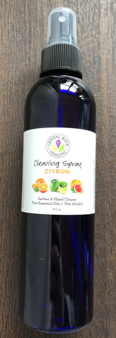 Alcohol Cleansing Spray-Citrus