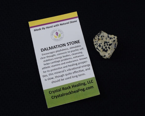 Dalmation Stone Pocket Stone