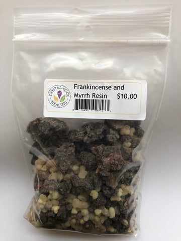 Frankincense and Myrrh Resin