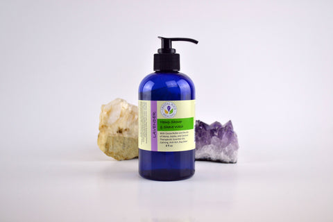 Hemp Body Wash Lavender 8oz