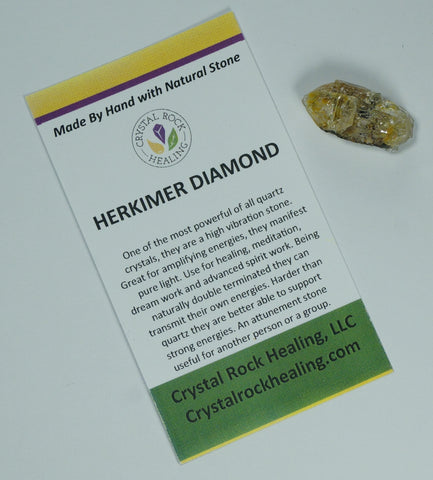 Herkimer Diamond Pocket Stone