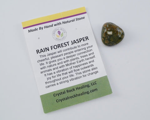 Jasper Rainforest Pocket Stone