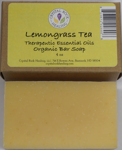 Lemongrass & Tea Bar Soap 4oz