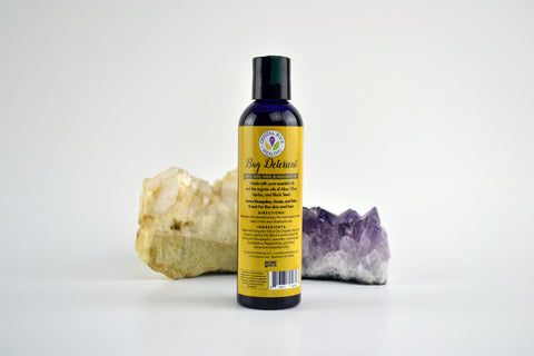Bug Deterrent Massage & Bath Oil 8oz