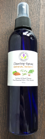 Alcohol Cleansing Spray-Medieval Remedy