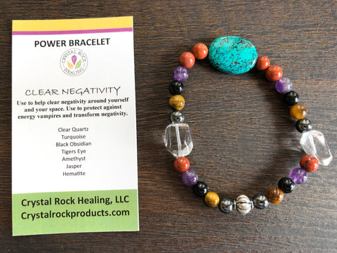 Collection Bracelet Clear Negativity