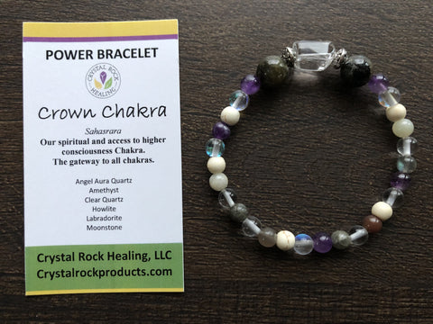 Power Bracelet-Crown Chakra