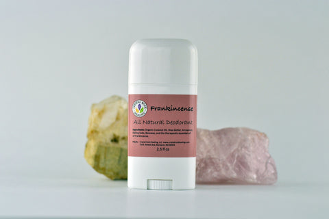 All Natural Deodorant Frankincense 2.5oz
