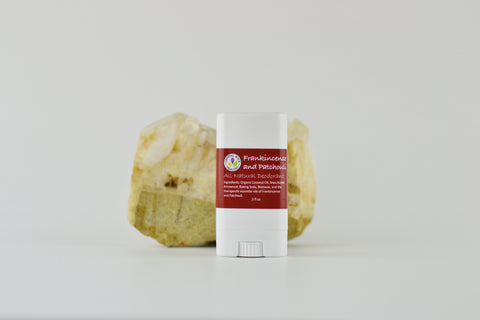 All Natural Deodorant Frankincense & Patchouli .5oz