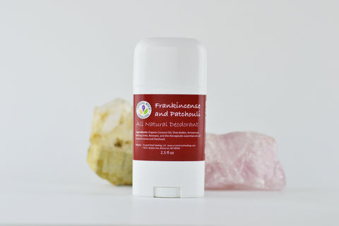 All Natural Deodorant Frankincense & Patchouli 2.5oz