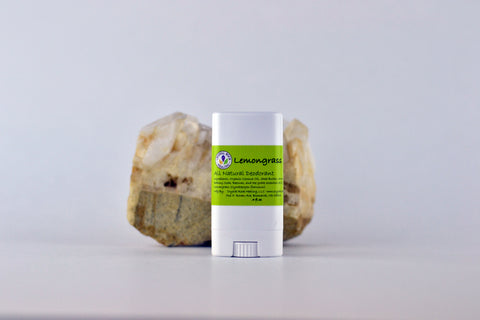 All Natural Deodorant Lemongrass .5oz