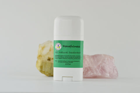 All Natural Deodorant Peacefulness 2.5oz