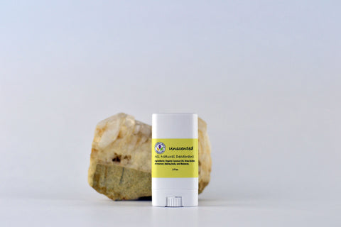 All Natural Deodorant Unscented .5oz