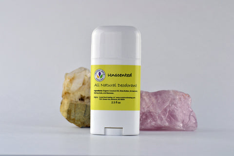 All Natural Deodorant Unscented 2.5oz