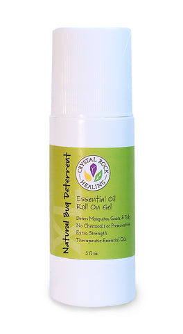 Natural Bug Deterrent XL Gel Roll On