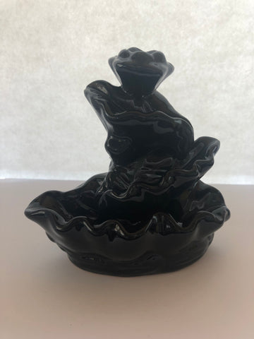 Ceramic Backflow Incense Burner -Waterfall