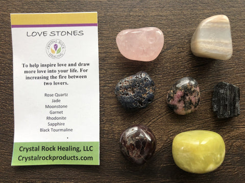 Collection Stones Love
