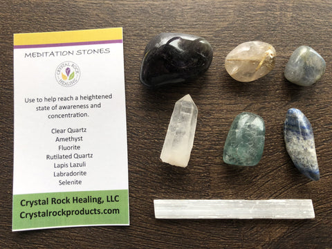 Collection Stones Meditation