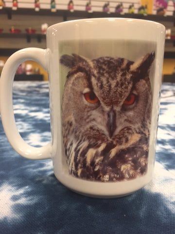 Spirit Animal Cup-The Owl
