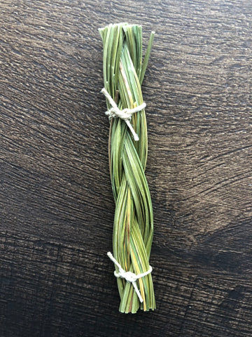 Sweetgrass Braid  4""