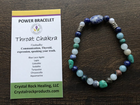 Power Bracelet-Throat Chakra