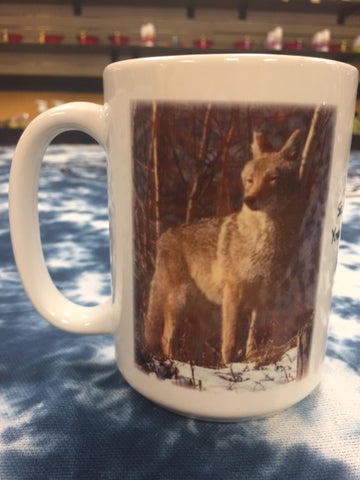 Spirit Animal Cup-The Wolf