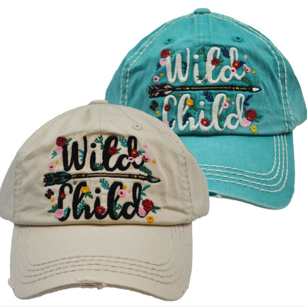Wild child baseball hat