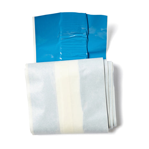 Blue Detectable Dressing Strip Latex Free 7.5cm x 1m 10203009
