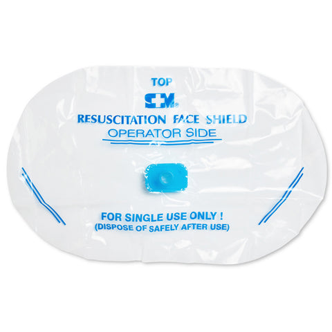 Resuscitation Face Shield Disposable 11301110