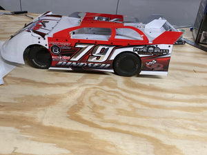 Extreme Race cars Pro Mod Traxxas 2wd slash dirt oval chassis conversion