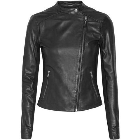Aaliyah Womens Leather Jacket - Wholesale Zombie