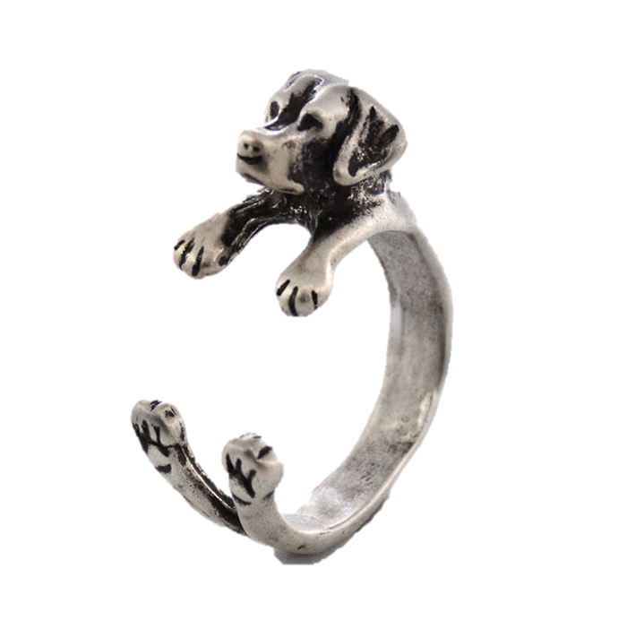 Loyalty Labrador Retriever Ring