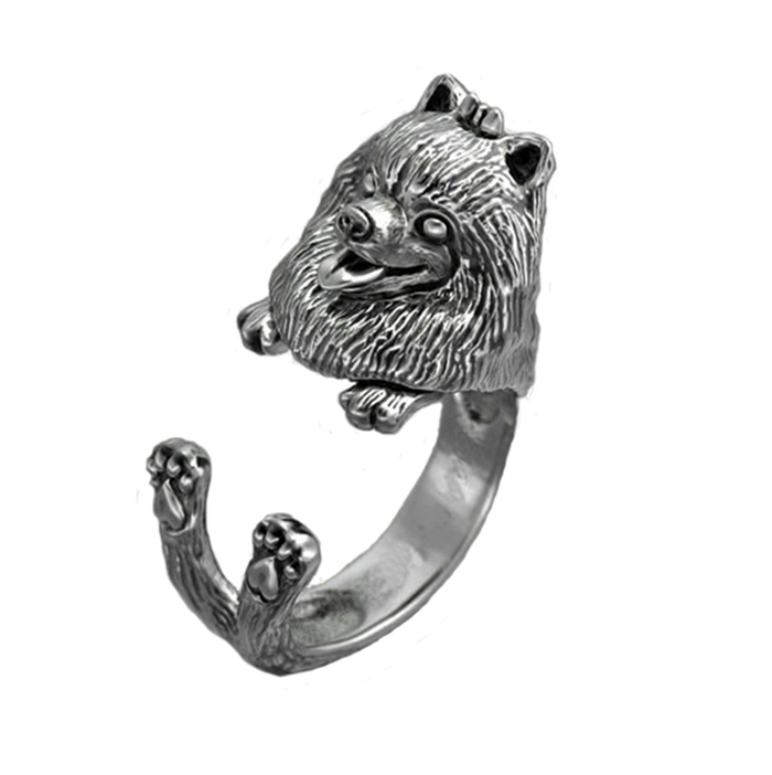 Loyalty Pomeranian Dog Ring