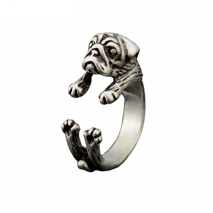 Loyalty Pug Ring